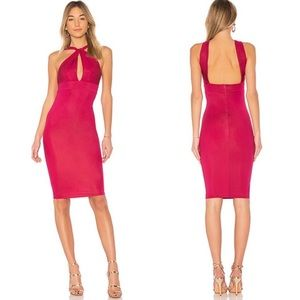 Michael Costello x REVOLVE Nico Midi in Berry